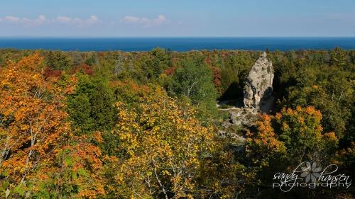 Sugar Loaf Rock Mackinac Island