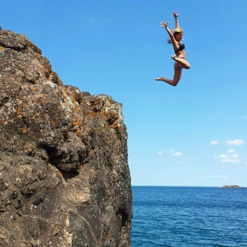 When in Doubt Jump off a Cliff