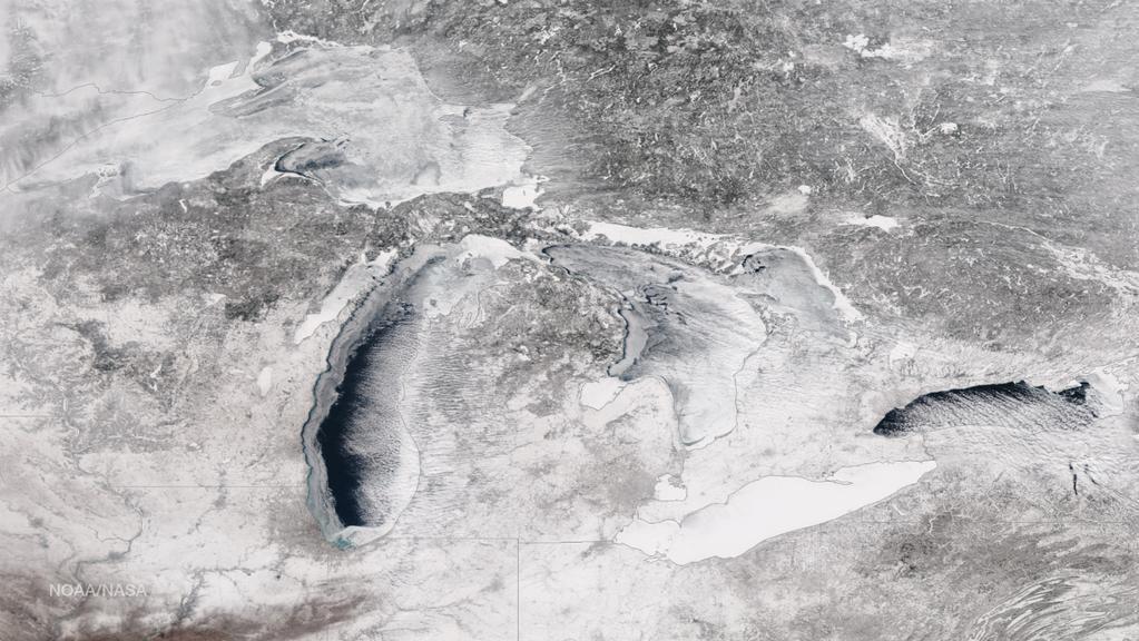 NOAA Ice Coverage