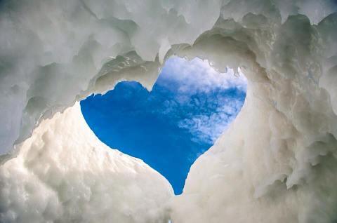 Valentines Day Ice