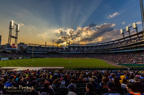 Comerica Sunset