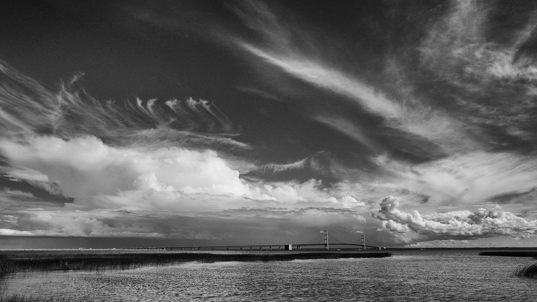 Mackinac Bridge, Michigan by Zack Schindler