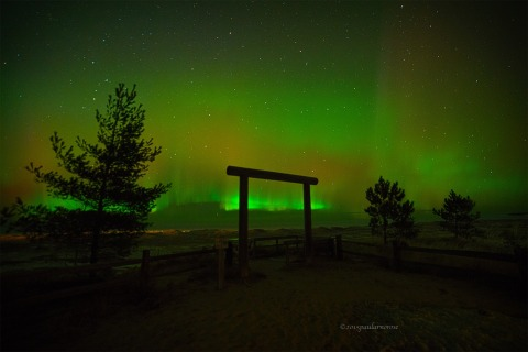 Northern Lights Ancient Aliens Edition