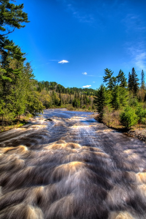Sturgeon River by Sven