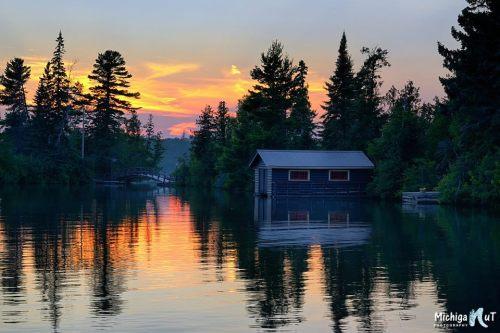 Copper Harbor Sunset by John McCormick