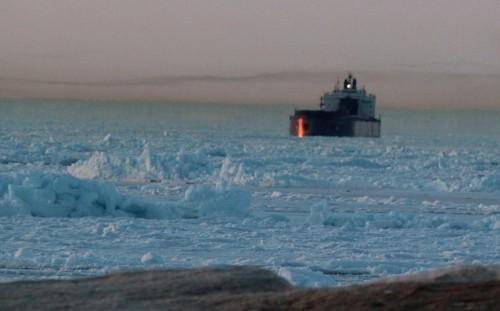 Ice bound, Whitefish Bay