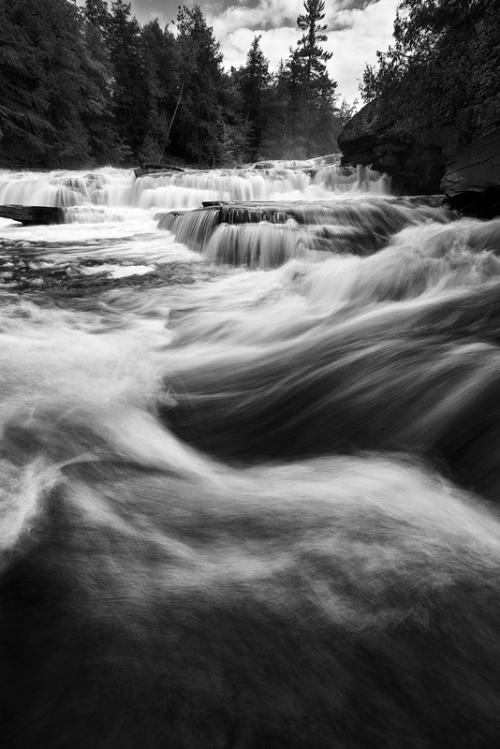 Turbulence (Manido Falls, Porcupine Mountain)