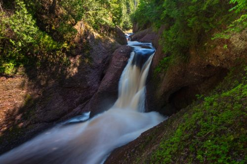 Gorge Falls Black River Byway