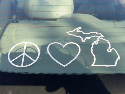 Peace Love & Michigan