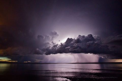 Lake Superior Weather Channel Thunderstorm