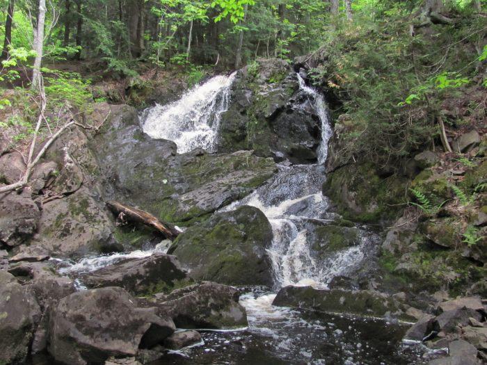 Wyandotte Falls Upper Peninsula