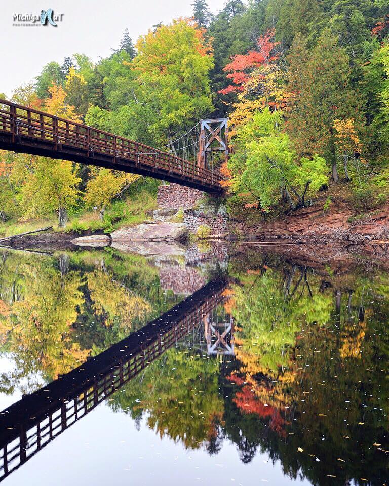 Fall Reflections at Black River