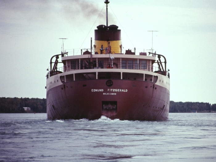 SS Edmund Fitzgerald Underway