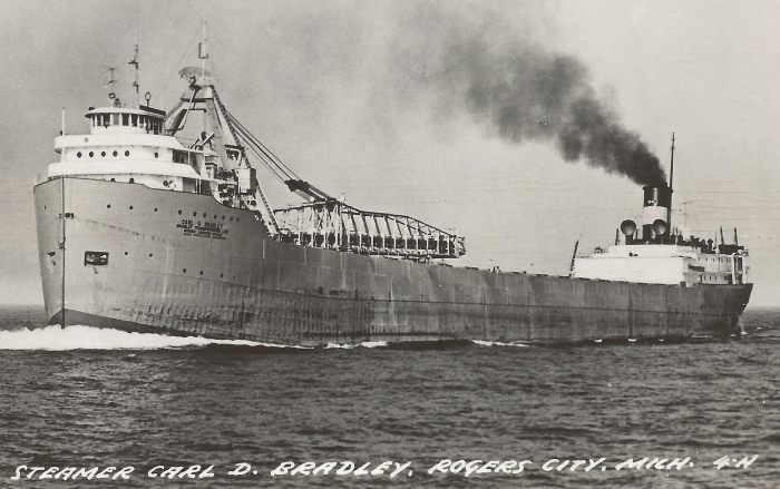 Steamer Carl D Bradley Rodgers City Mich