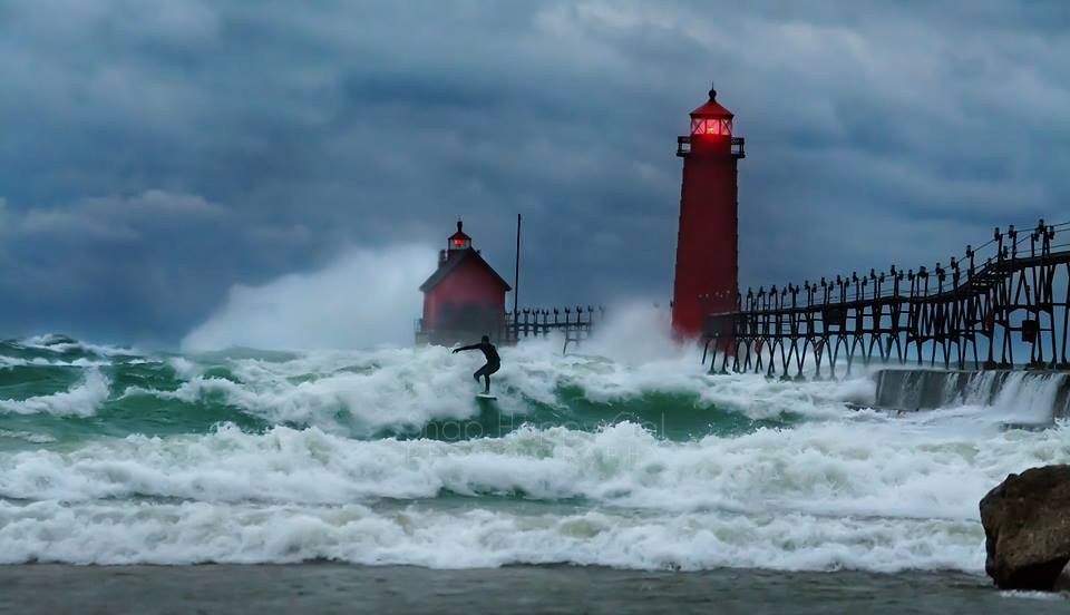 Surfing the Storm
