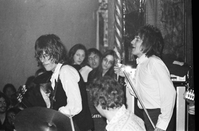 Jeff Beck Group and Rod Stewart at the Grande Ballroom