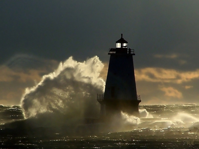 Ludington Lighthouse by RJE