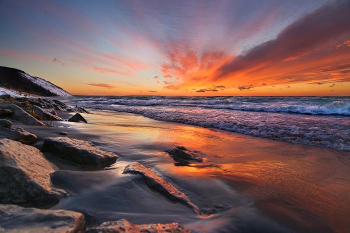 Celebratory Sunset