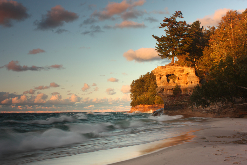 Chapel Rock Pictured Rocks