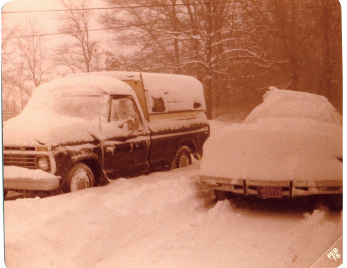 Michigan Blizzard 1978