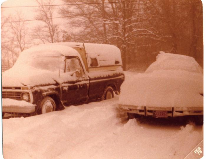 Michigan Blizzard 1978