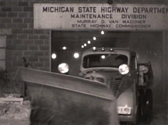 1930s Michigan Snowplow
