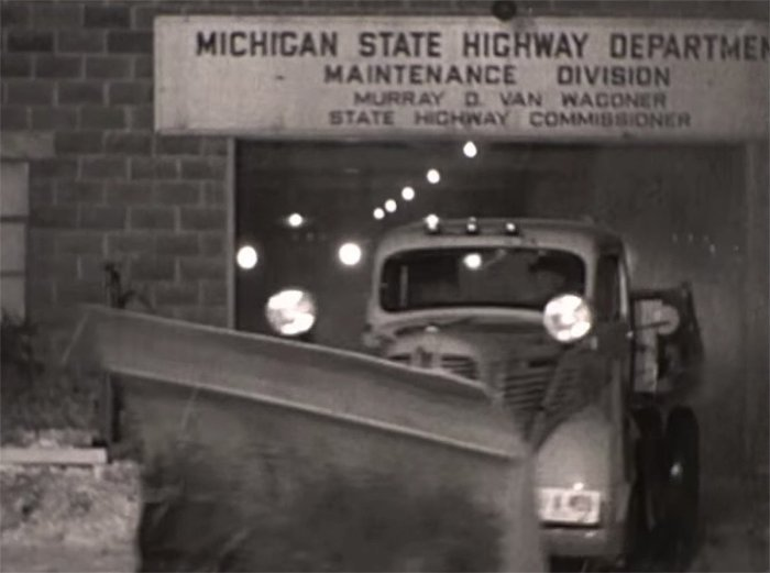 1930s Michigan Snowplow