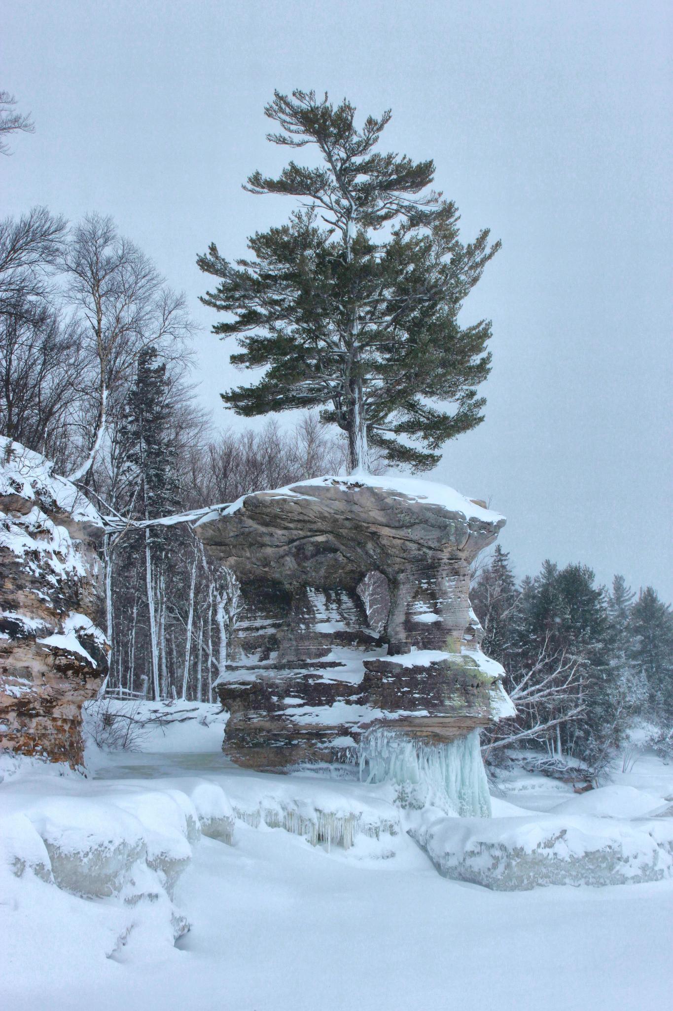 Chapel Rock in Winter