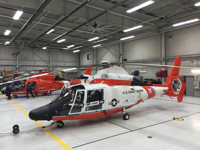 Coast Guard Centennial Helicopter 6517 Traverse City