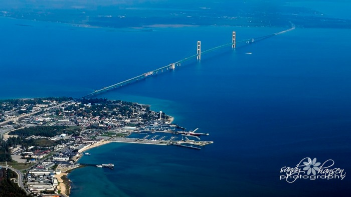 Mackinaw-City-and-Mackinac-Bridge