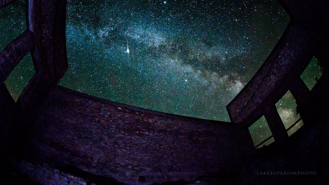 Milky Way & Meteor at Fayette