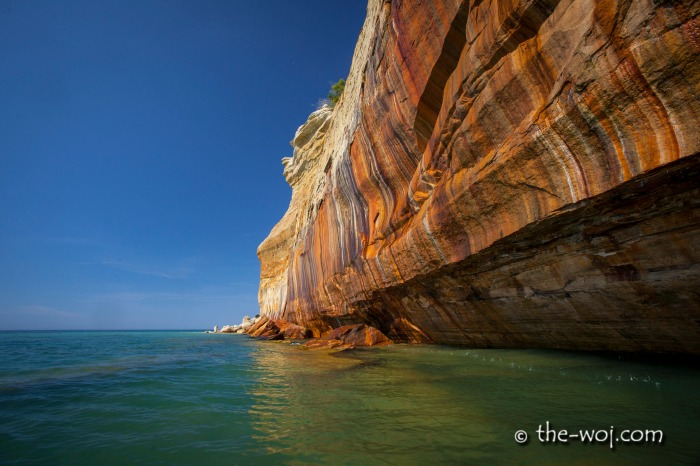 Pictured Rocks National Lakeshore from Water