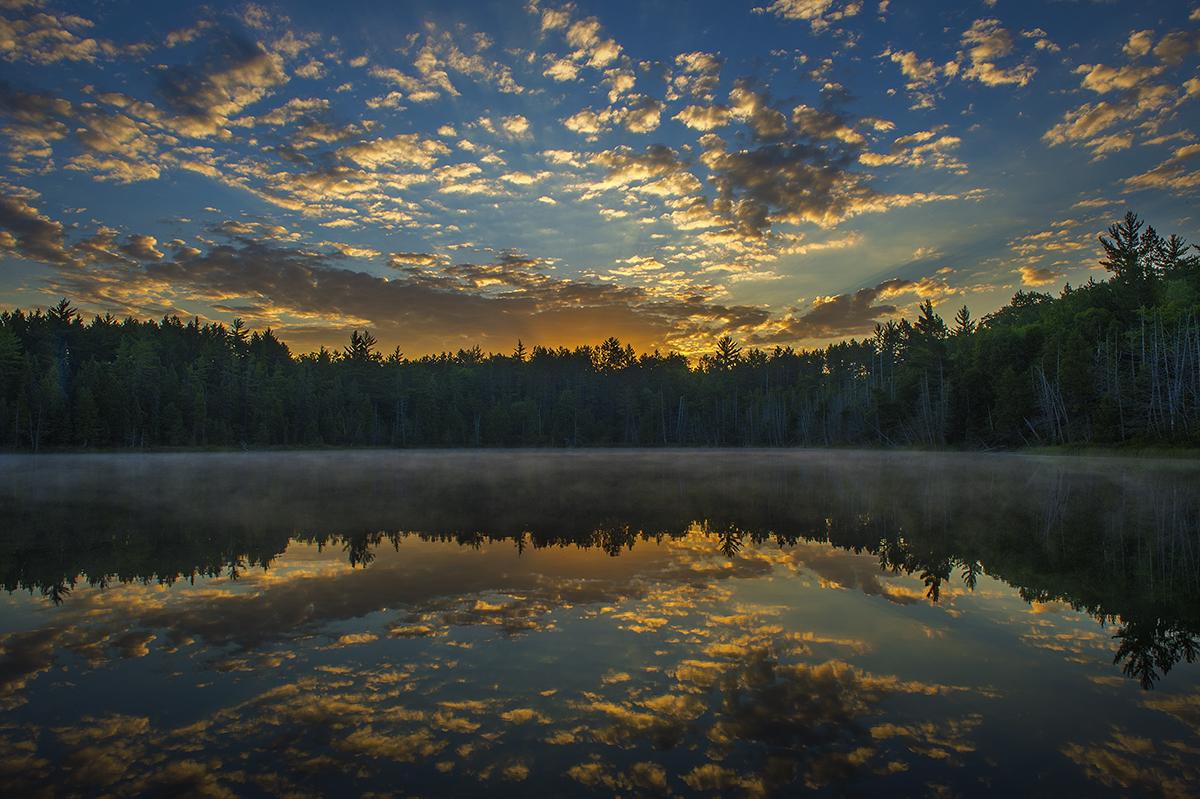 Glory Lake Sunrise