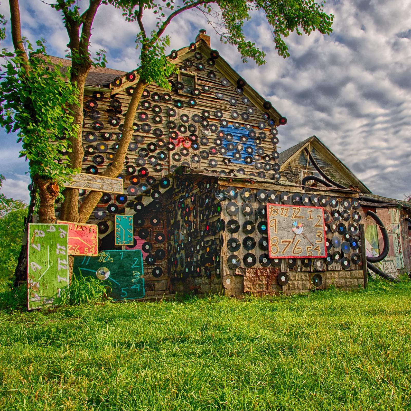 Mike Boening Heidelberg Project-Detroit, MI