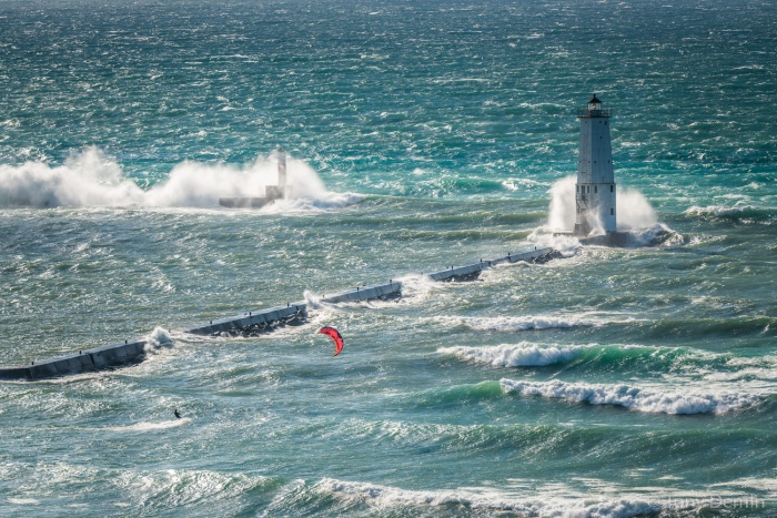 kiteboarding-in-frankfort-michigan