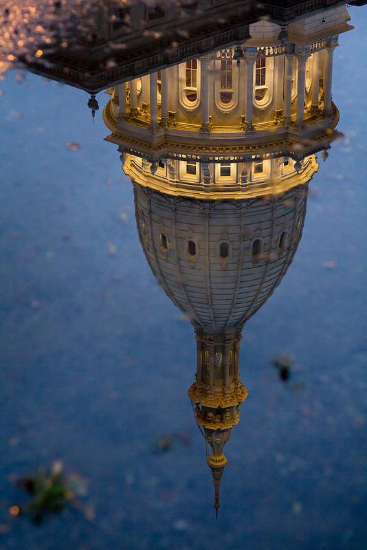 upside-down-capitol-building