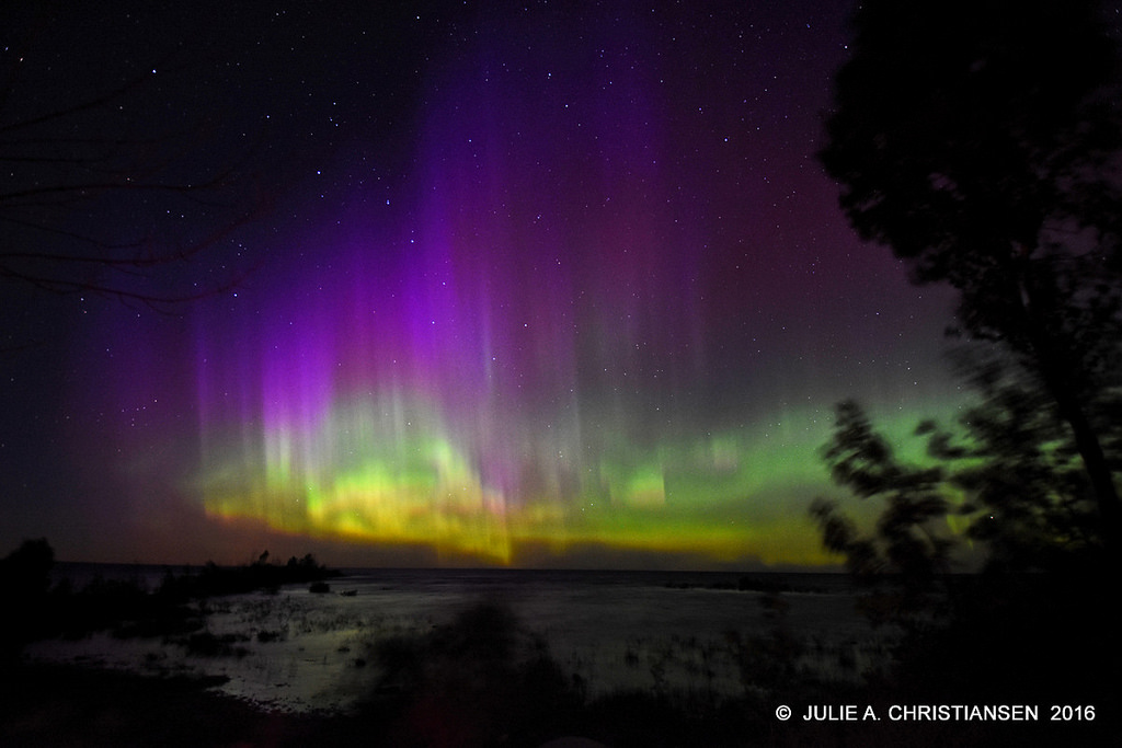 Northern Lights Michigan September 2017
