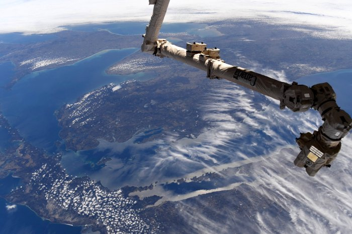 On Wednesday, NASA astronaut & Grand Rapids native Christina Koch tweeted the photo above that perfectly captures Michigan's Leelanau Peninsula with the ...