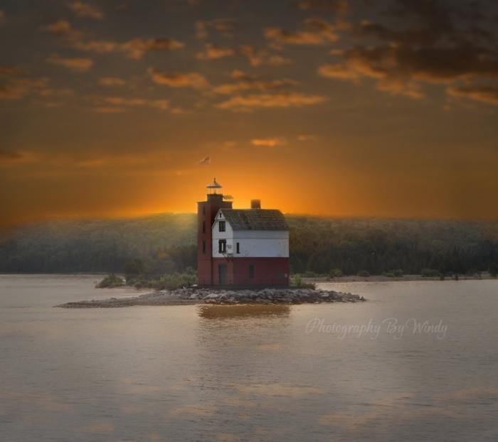 Lighthouse by Windy
