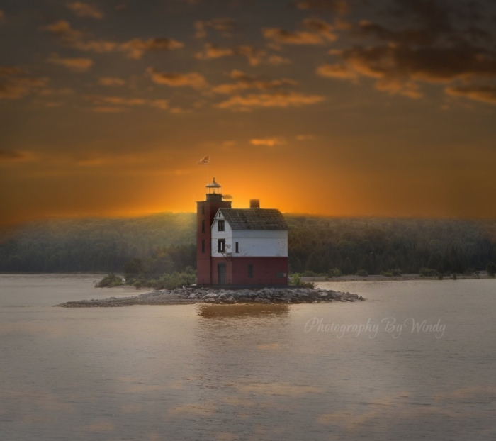 Lighthouse by Windy