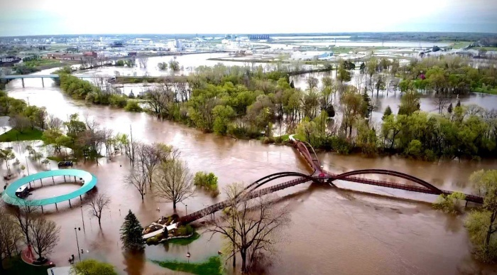2020 Flooding in Midland MIchigan by City of Midland