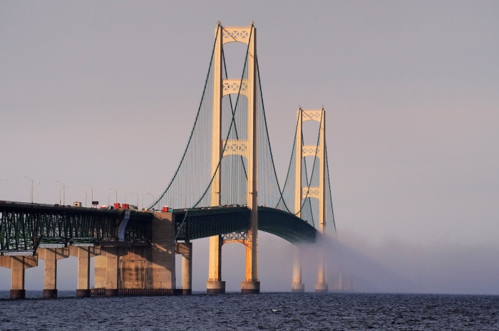 Mackinac Bridge by Daniel L