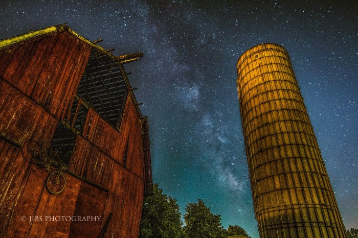 Broken Barn and the Galaxy by Jibu John