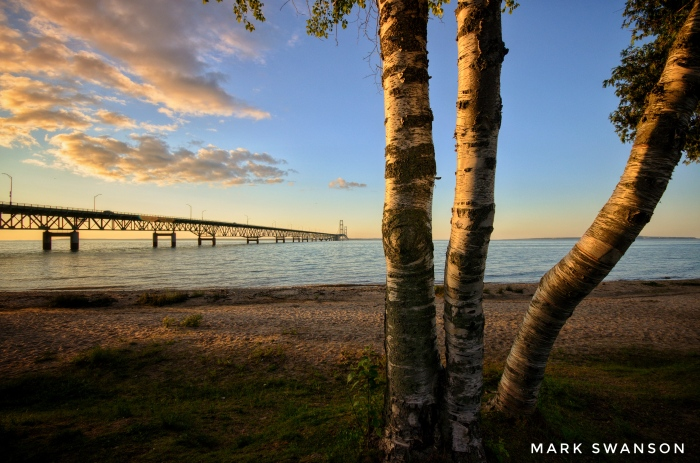 Straits of Mackinac by Mark Swanson