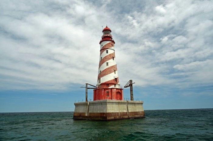 White Shoal Lighthouse MI by Mark