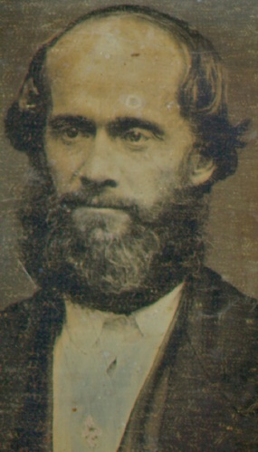King James Strang daguerreotype 1856