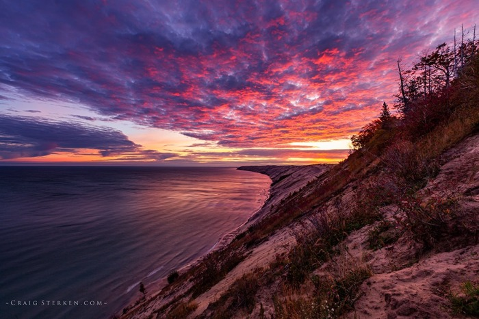 Grand Sable Dunes Sunrise by Craig Sterken Photography