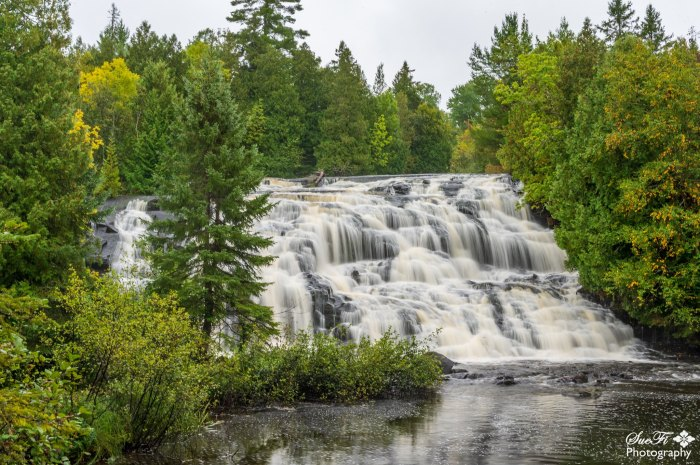 Bond Falls - Paulding MI by SueFi Photography