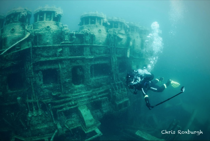 Wreck of the Nordmeer by Chris Roxburgh