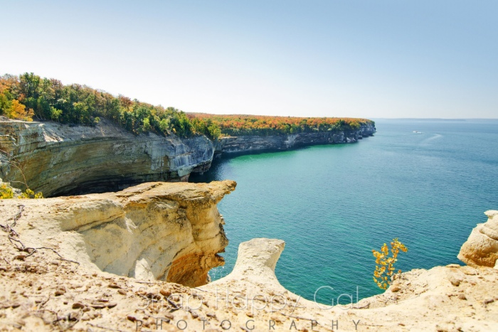 Pictured Rocks Caves by Heather Higham